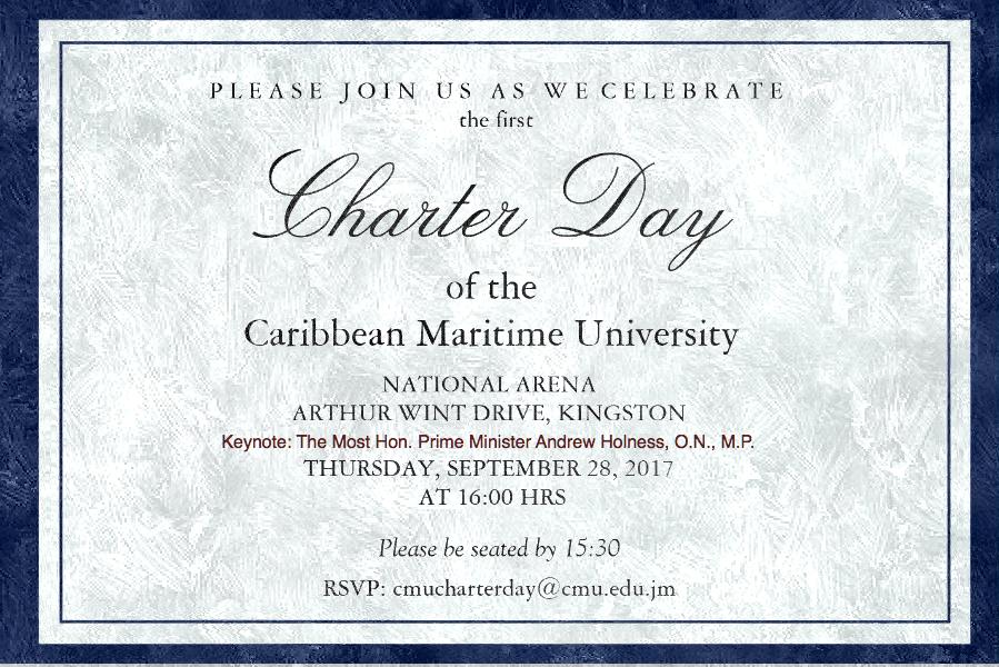 CMU Charter Day