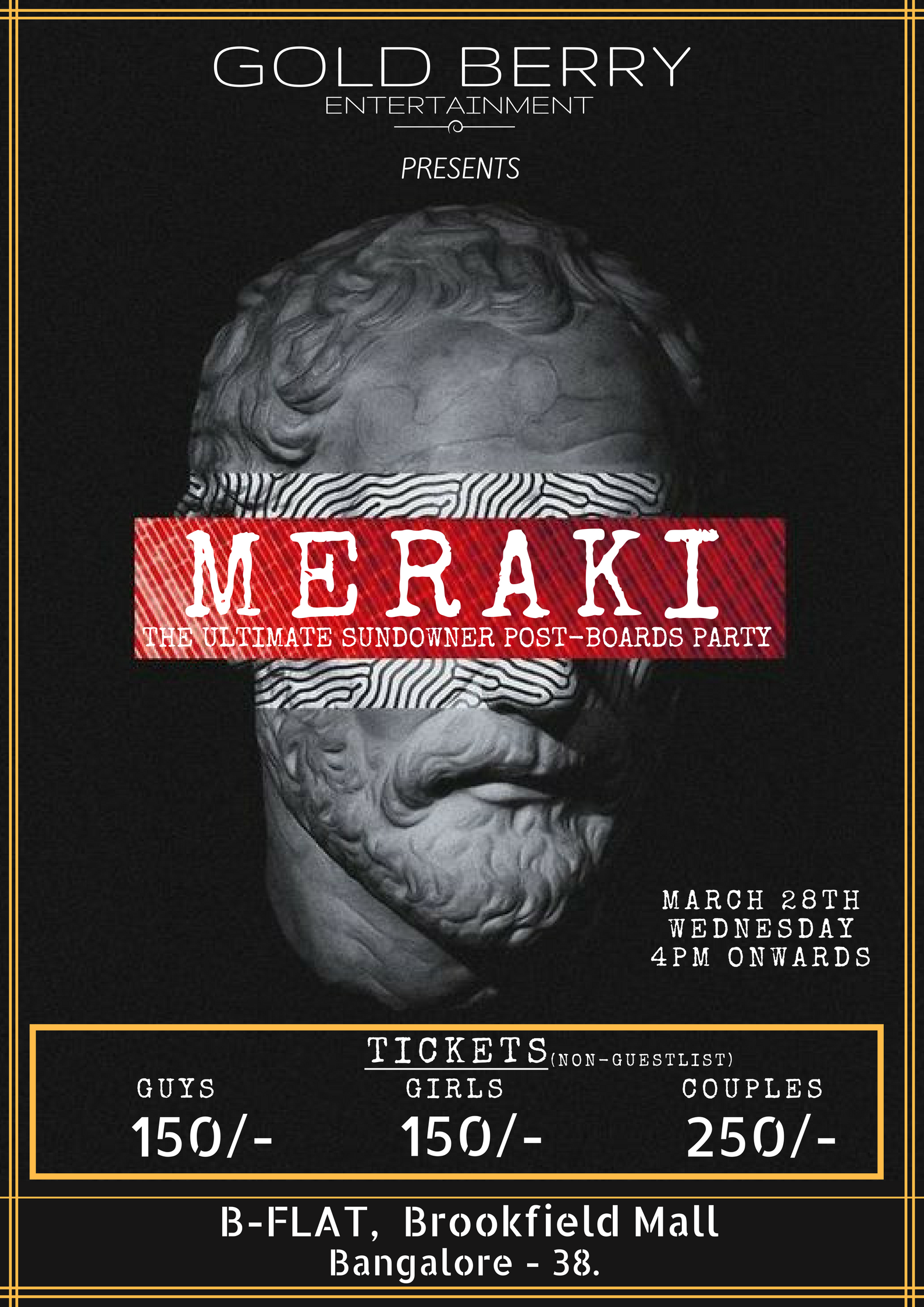 28TH MERAKI EVENTEX GUESTLIST