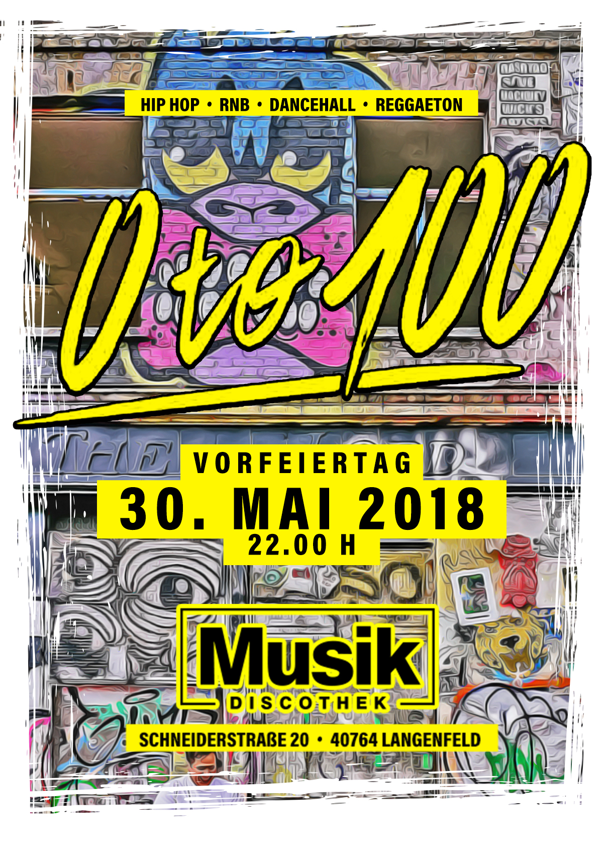 0 to 100 30.05. x Musik