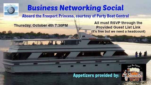 Business Social with Party Boat Central