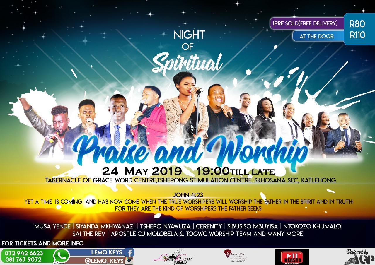 NIGHT OF SPIRITUAL PRAISE AND WORSHIP