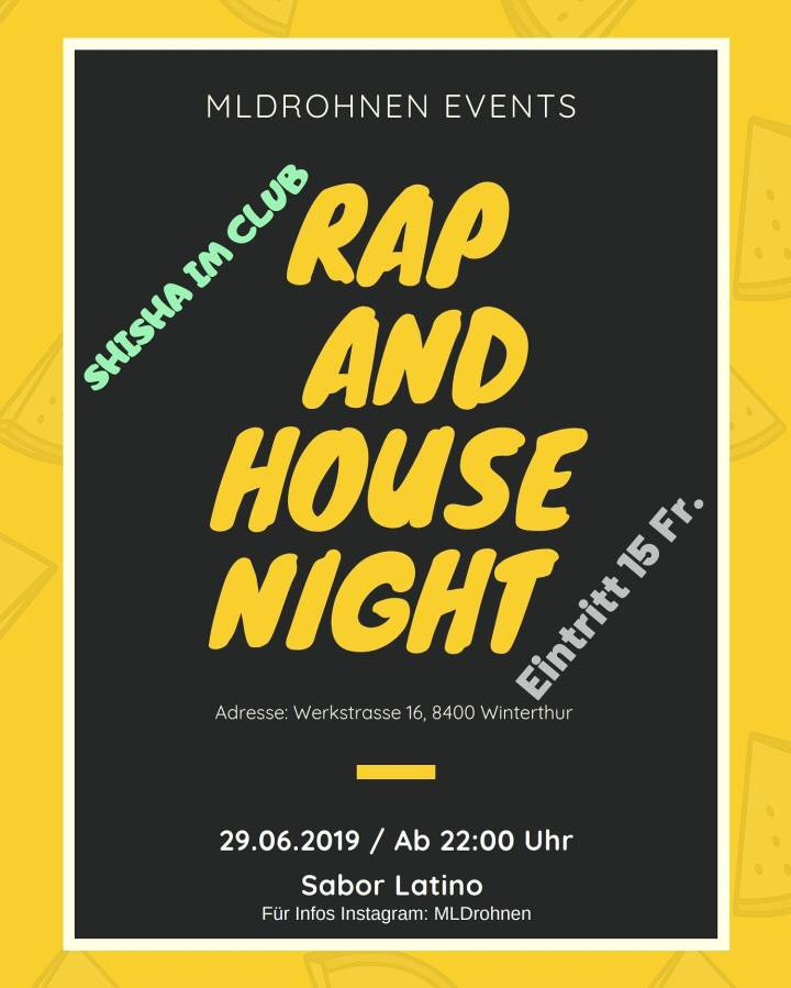 Rap and House Night