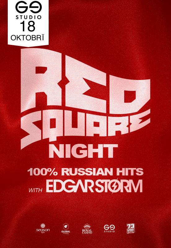 18.10.2019 RED SQUARE NIGHT