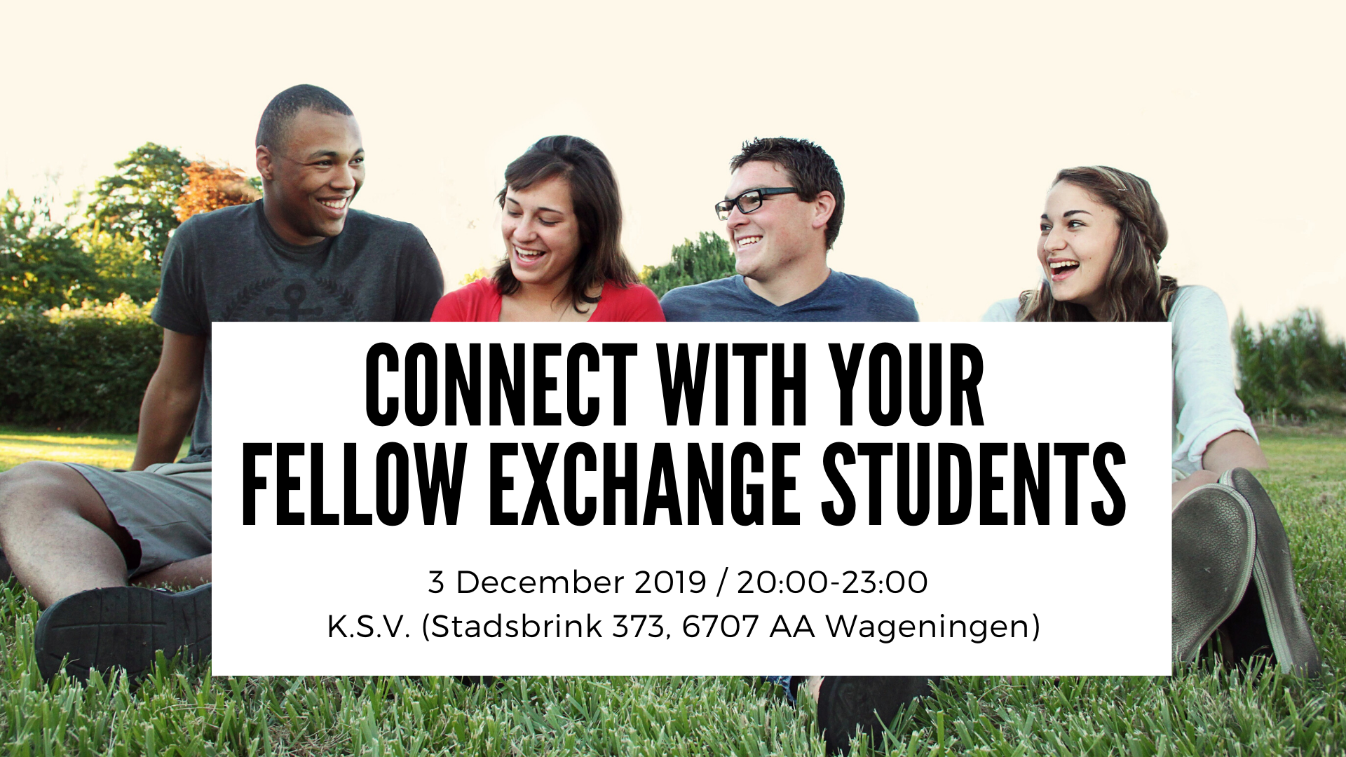Connect with your fellow exchange students!