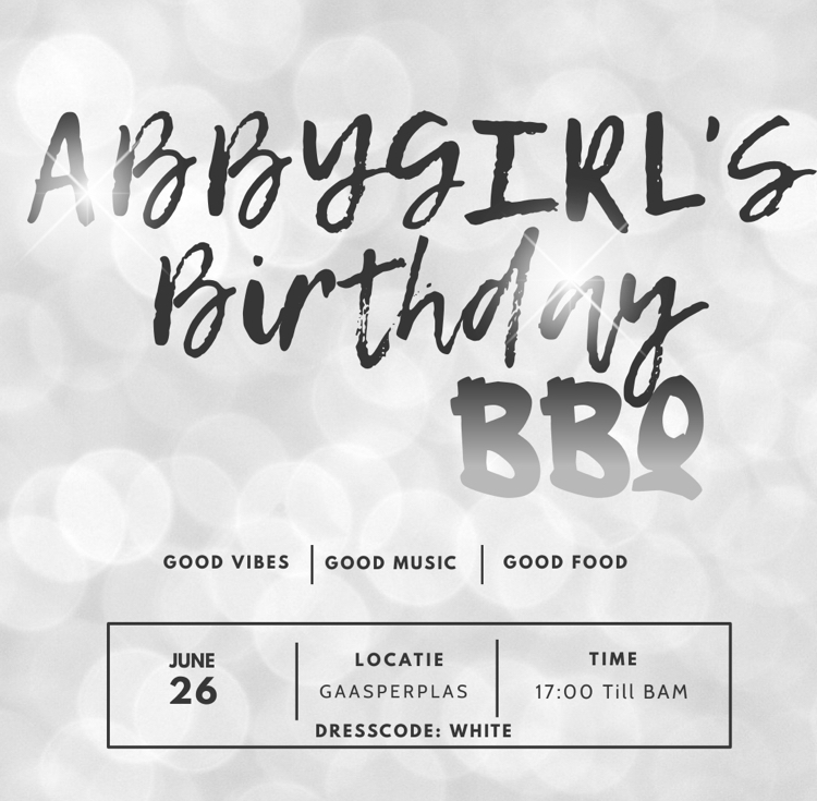 Abbygirl's BBQ Party