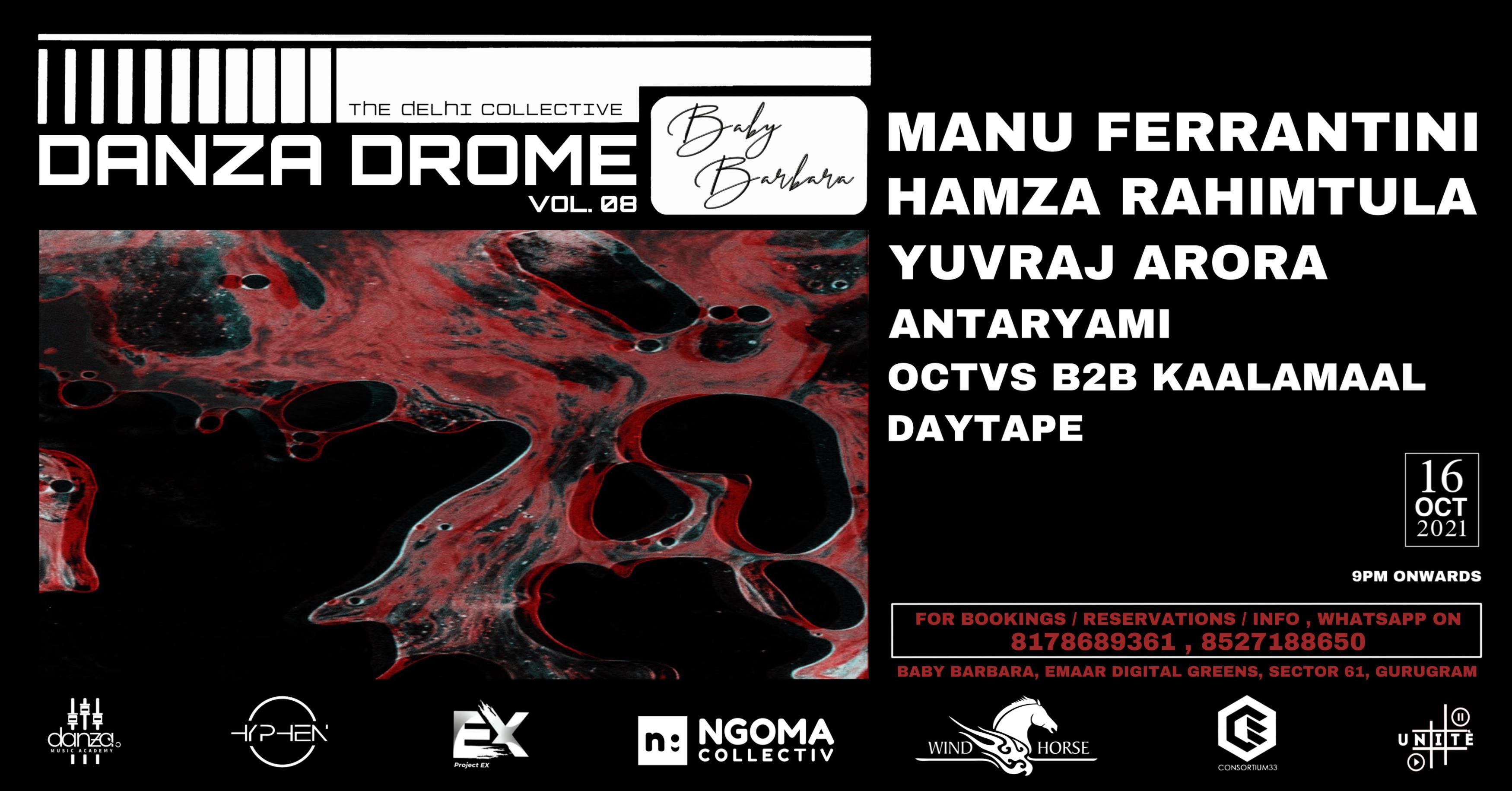 Danza Drome Vol.8 (1000Rs Full Cover )